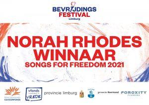 Norah Rhodes winnaar SOF